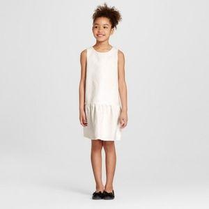 Victoria Beckham Girls Jacquard Floral Dress Sz XS